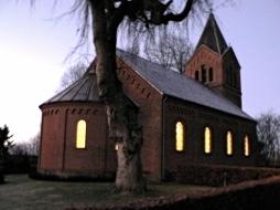 Kirkebillede aften redigeret størrelse